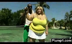 Plump Girl In Extreme Sex