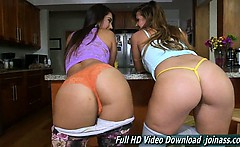 Eva Lovia And Keisha Grey Lesbians With Big Butts