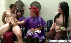 Dancingcock Beauty Salon Orgy
