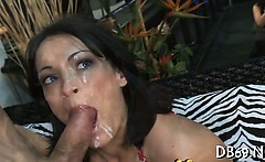 Gorgeous girl and her best ally acquire fucked