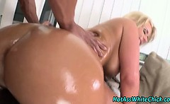 Blonde big booty ho rides dick
