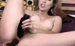 Blonde MILF Penetrates Herself