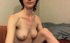 Slender Girl With Nice Boobs
