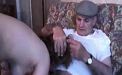 Cock stuffing mature orgy