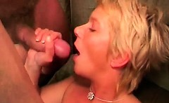 Her mature pussy is hungry for big cocks