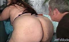 Porker Jayden Heart gets her sizeable ass sniffed