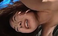 Asian Slut Gets Hot Wax On her