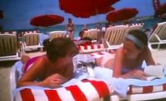 Girls At The Beach Resort