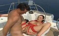 Anal Creampie On A Boat
