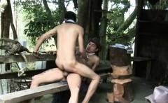 Latin Gay Get His Tight Ass Bareback Fucked