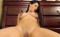 Hottie Riding a Dildo Till she Orgasms