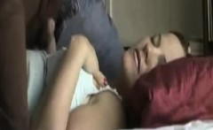 husband fucking wife missionary on bed