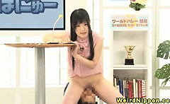 Japanese cutie licked out and fingered