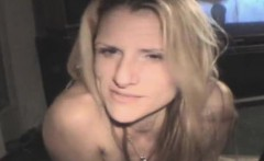 Sloppy Blonde Street Whore Fucked Point Of View
