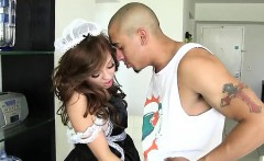 Very sexy young maid