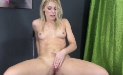 Pee drinking goddess enjoys solo golden shower