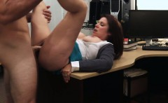 MILF desperately fucked for cash