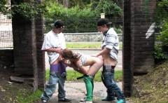 cute teen girl public street gangbang fucking orgy part 4