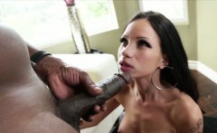 Sexy Raven monster lust devours Lex cock