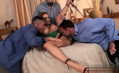 Horny girl cum in mouth swallow