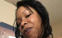 Hot ebony BBW girlfriend fucked by a big black meaty cock