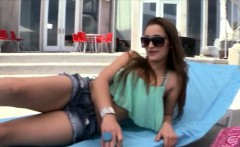 Roung ass Dani Daniels takes a fat cock in her pussy