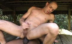 Hot Gay Muscle Dude get Butt Fucking under the sun