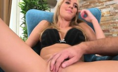 Cadence Lux Sucks Cock And Gets Her Pussy Fingered