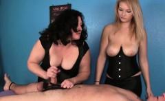 Bigtit cbt mistress ruins her clients orgasm