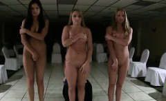 Group of naked teen amateurs play in lesbian sorority