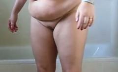 Fat Housewife Wants To Take A Bath