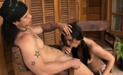 Attractive ladyboy suck and bonks like hell