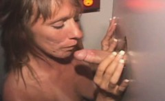 Mature Amateur Sucking Dick And Fucked Through Glory Hole
