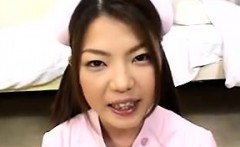 Sweet Asian Nurse Bukkake At A Hospital