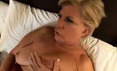 Horny Granny Loves His Big Black Cock