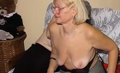 OmaPass Old lesbian couple masturbating pussy with toy