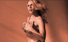 Charisma Cappelli Sexy Solo Striptease