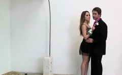 Prom date gets taught hot to fuck