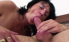 Mom Wake Up 18yr german Step-Son to fuck him when Dad away