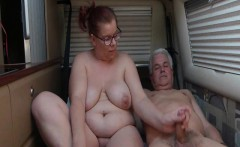 Granny and her man fucks