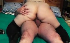 British BBW On Her Husbands Hard Cock