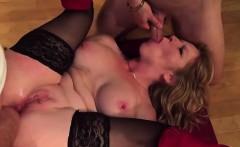 French lady Eden gangbanged by few cocks