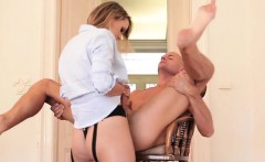 Busty daughter hard anal sex