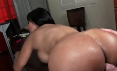 huge ass excited bitch banged over the table