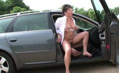 49yr old German Hairy MILF seduce to Fuck Outdoor