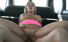 Glamour girl anal accident