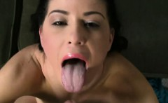 She says she's horny to suck cock