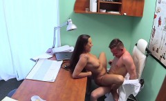 new doctor fucks sexy nurse in fake hospital