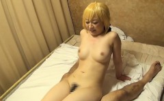 Yummy Japanese Idol Otaku fucked by her three lucky fans
