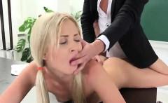 blondie sucks teachers dick and gets fucked